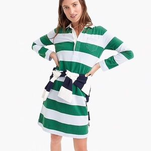 NWT J.Crew 1984 Rugby Shirtdress